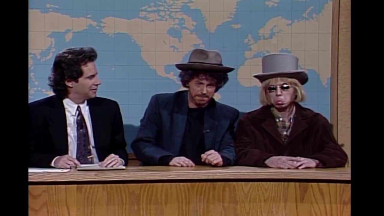Dana Carvey As Bob Dylan - Saturday Night Live